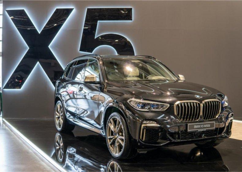#1. BMW X5