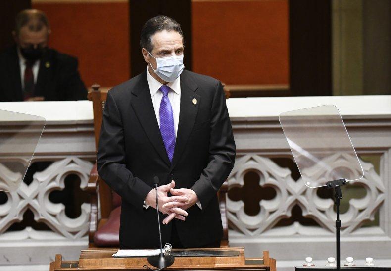 Governor Andrew Cuomo, New York
