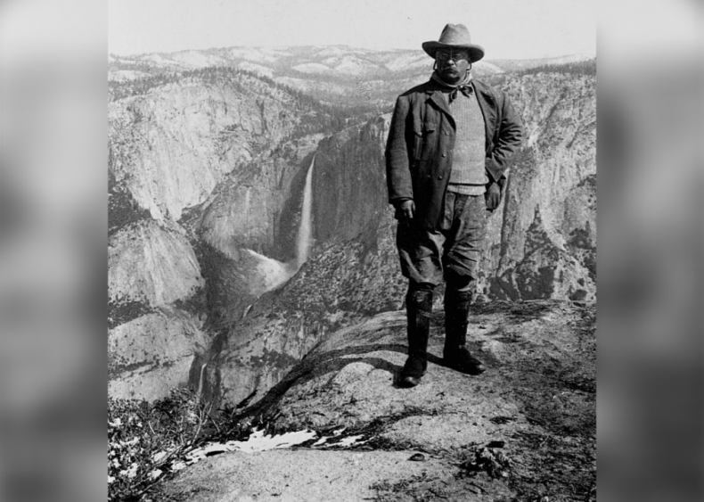 President Roosevelt at Yosemite