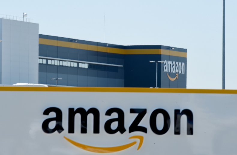 Amazon facility in France