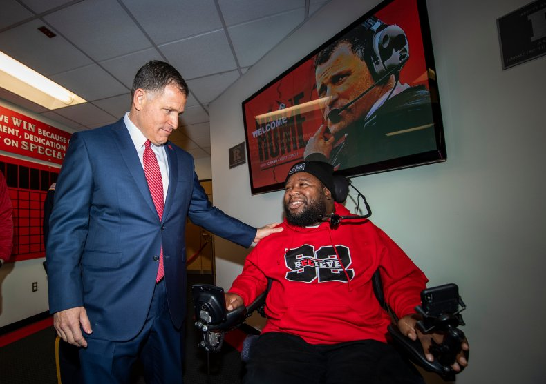 Eric LeGrand and Greg Schiano