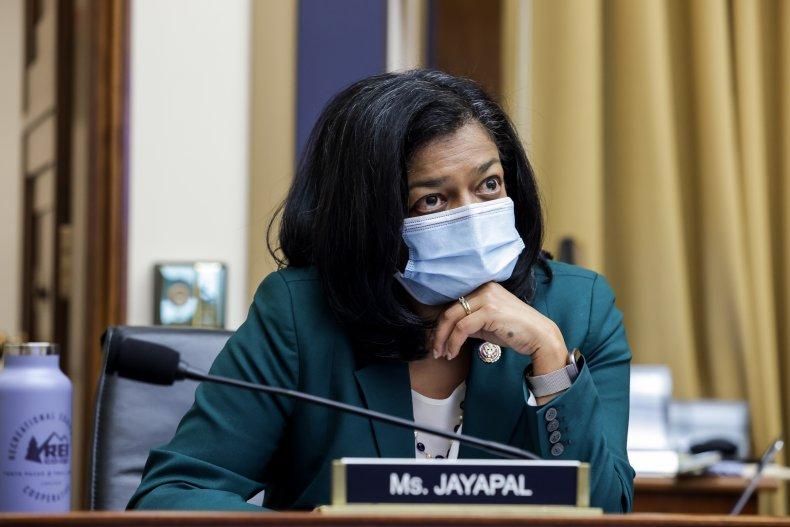 pramila jayapal at subcommittee hearing