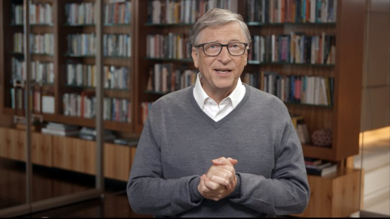 Bill Gates speaks during All In WA