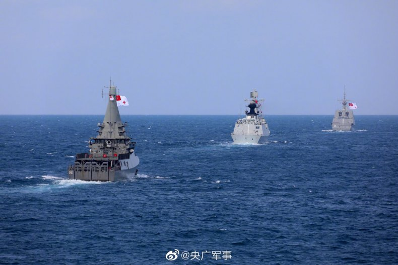 Singapore and China Conduct Joint Naval Drills