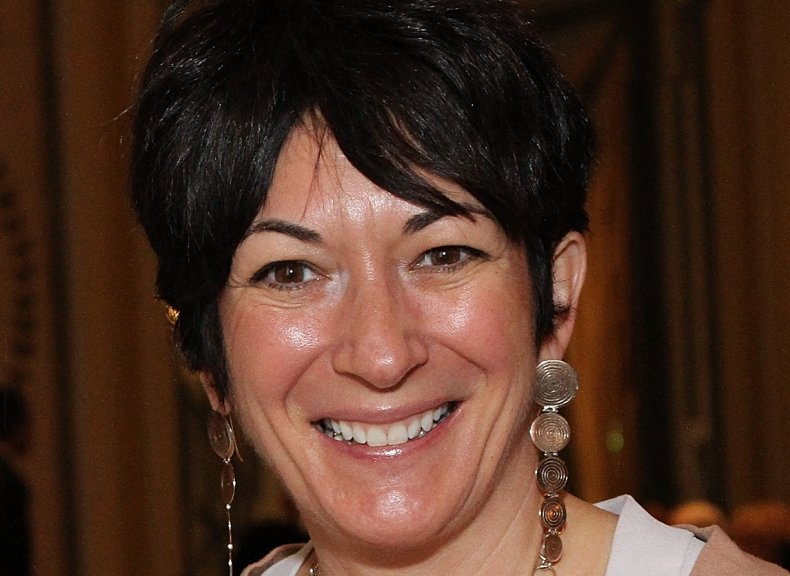 Ghislaine Maxwell at Child Cruelty Event