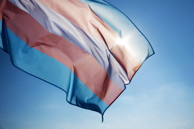 transgender flag, lgbt, getty, stock
