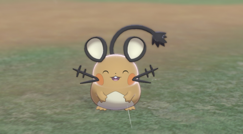 pokemon sword shield dedenne
