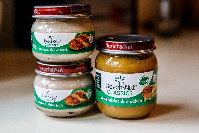 Baby Food Arsenic Lead Beech-Nut Gerber