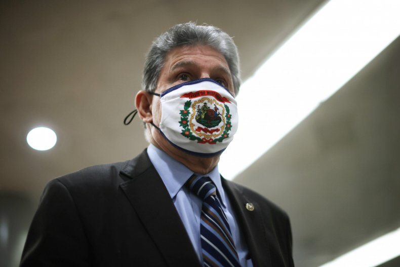 joe manchin at us capitol