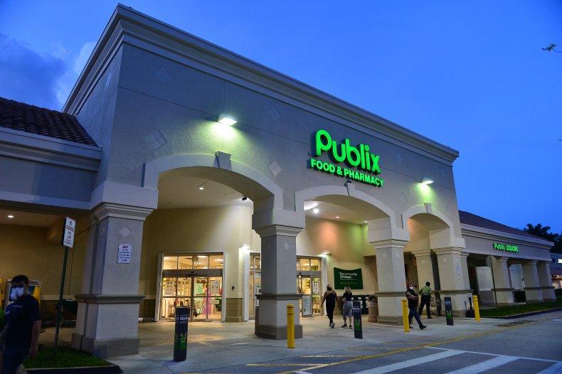 Publix supermarket Florida July 2020