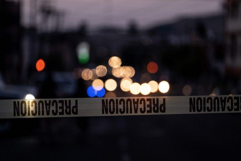 Mexico crime tape