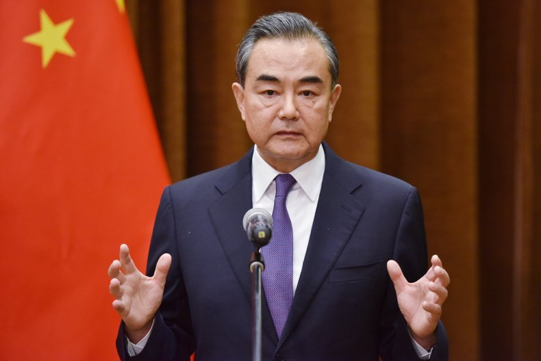 Chinese Foreign Minister Addresses Press