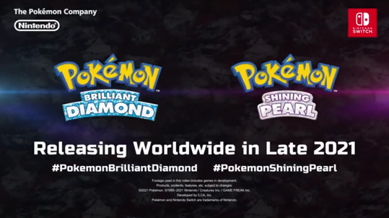 pokemon brilliant diamond shining pearl remakes