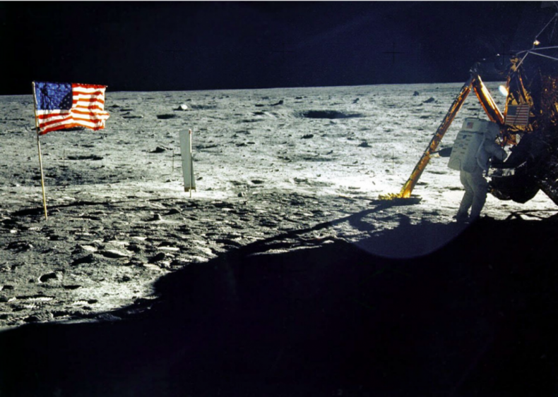 1969: First man on the moon