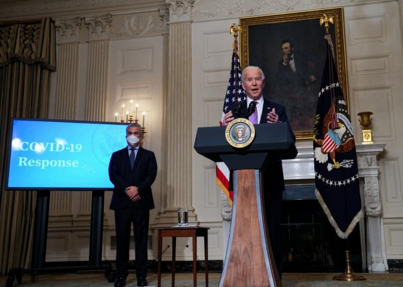 Jan. 27: First press briefing with new White House COVID-19 team