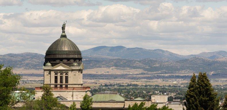 Helena Montana state capital building
