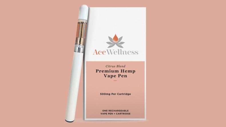 Acewellness Rechargeable Vape Pen