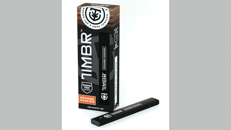 TIMBR™ Organics Orange Cookies Hemp Disposable Pen