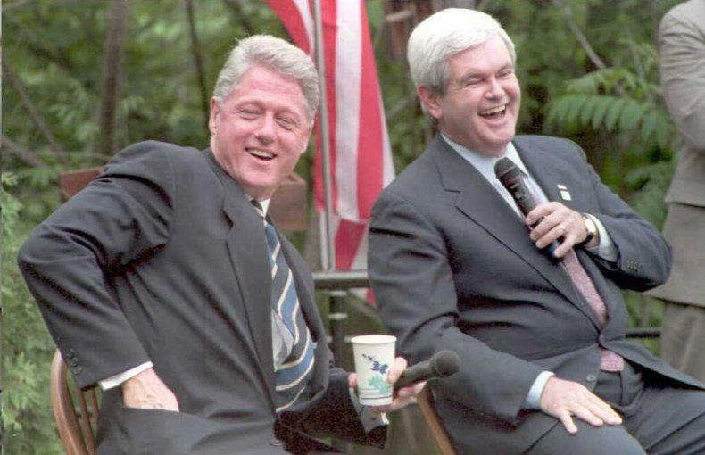 Bill Clinton Newt Gingrich welfare reform