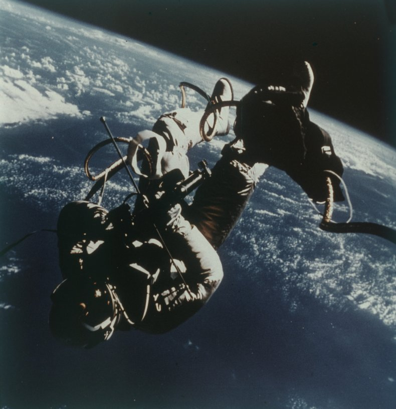 America's first space walk