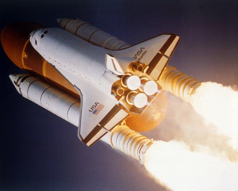 Atlantis Shuttle