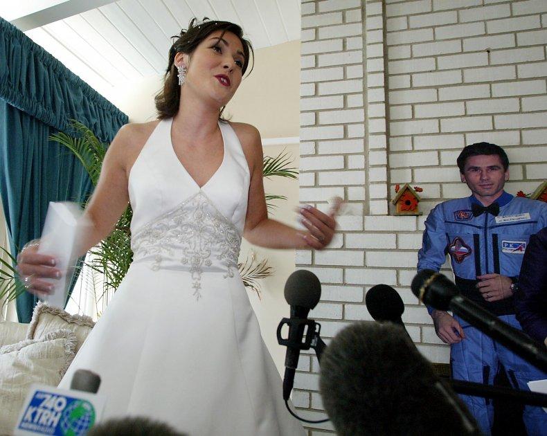 Space Wedding