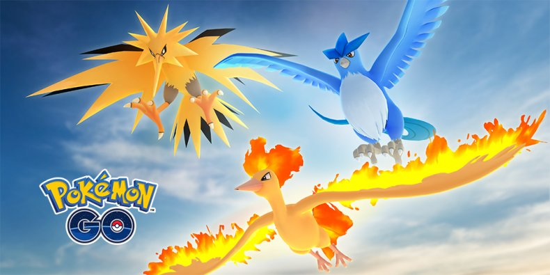 pokemon go kanto raid day legendary birds