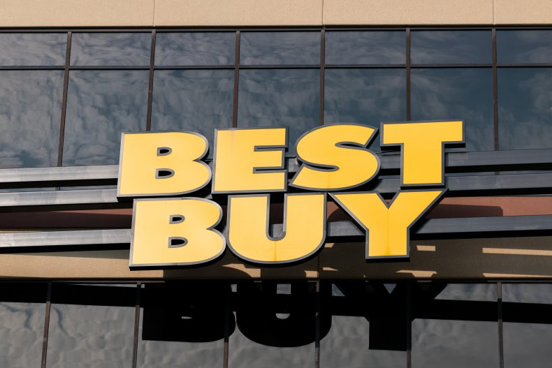 Best buy headquarters sign