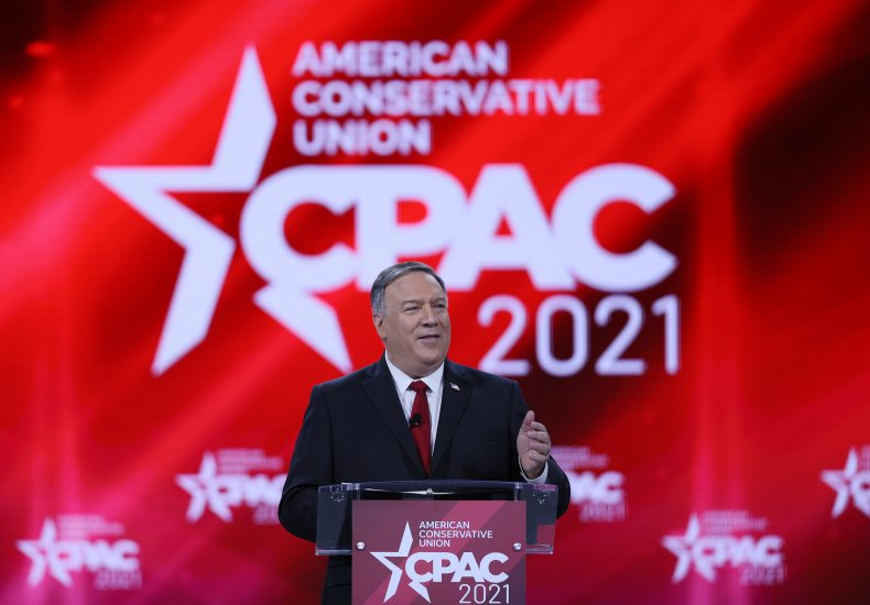 Mike Pompeo delivers address at 2021 CPAC