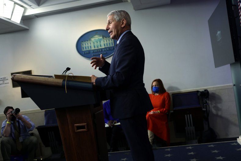 Dr. Anthony Fauci, White House, Coronavirus