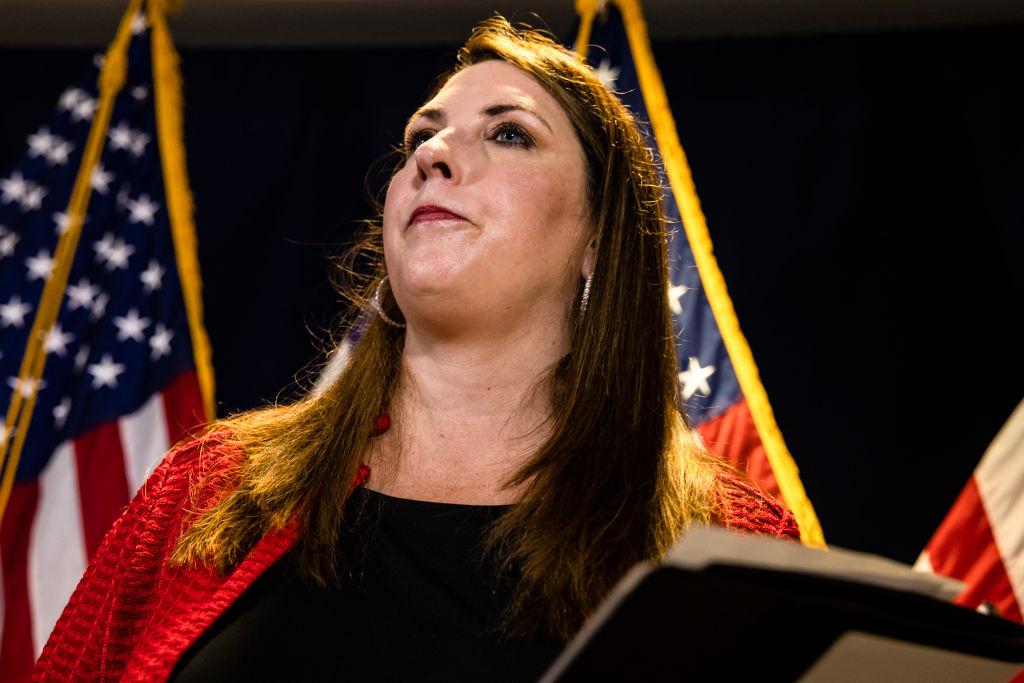 GOP Chair Ronna McDaniel Downplays Republican Tensions Over Trump