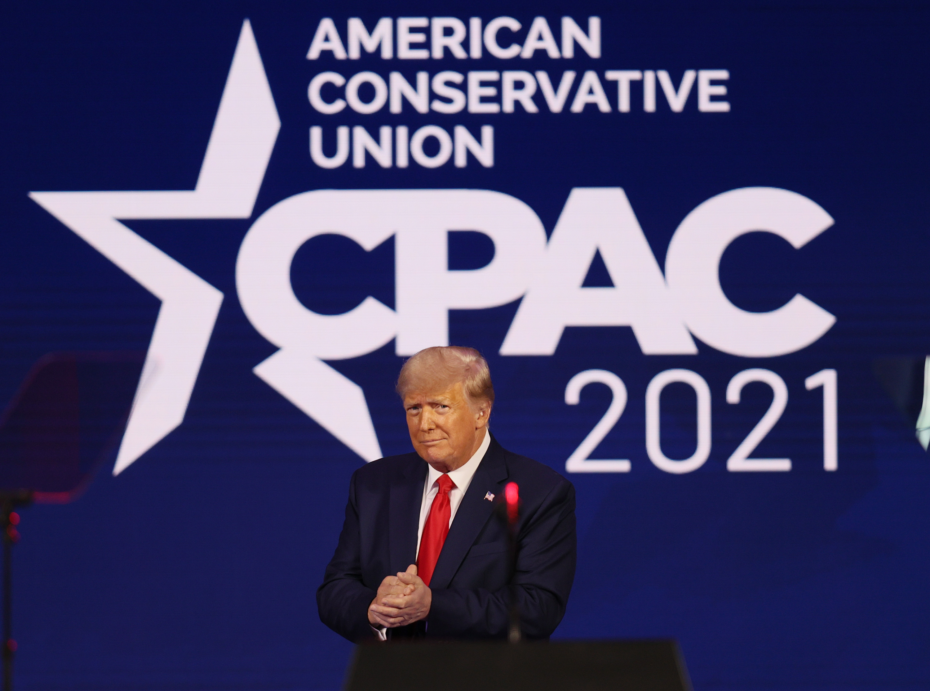 Trump Says GOP Is United While Attacking Republican Leaders in CPAC Speech
