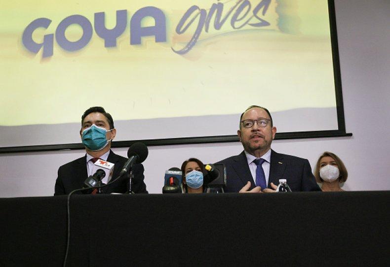 Goya Foods President Robert Unanue