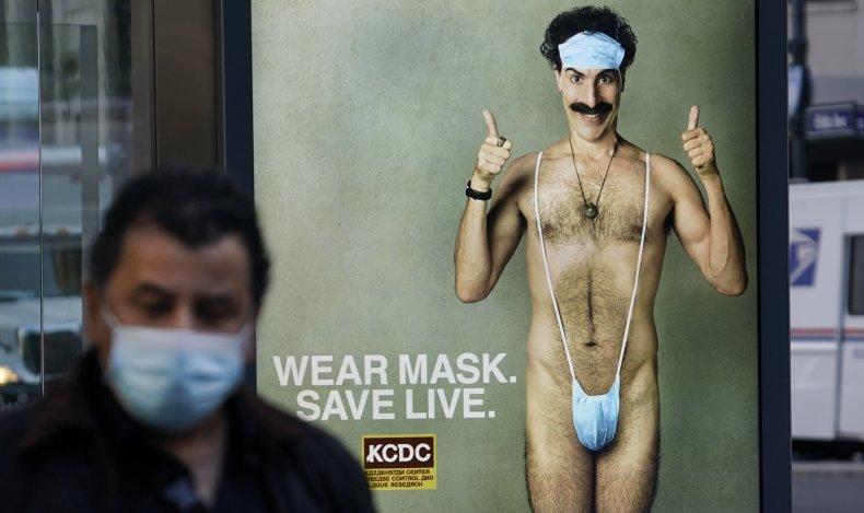 Sacha Baron Cohen Borat 2