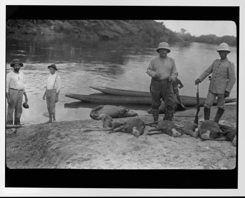 Theodore Roosevelt Brazil 1913