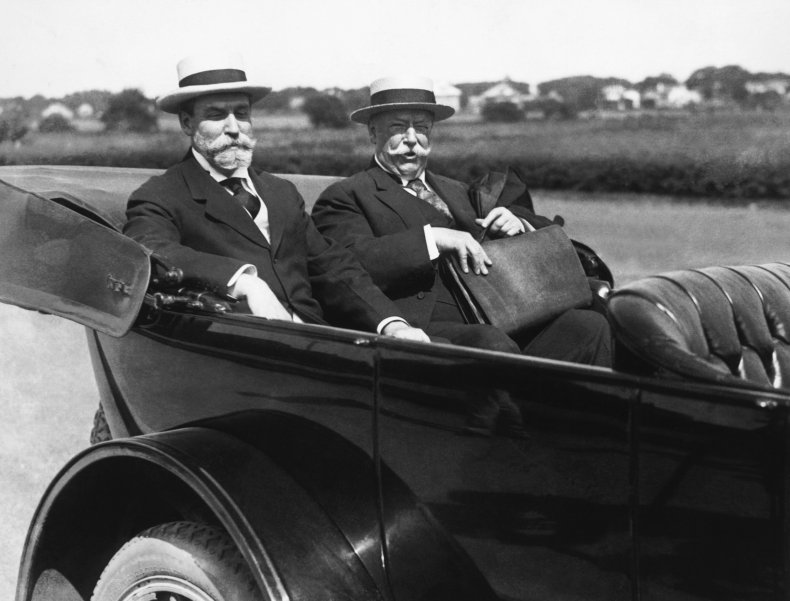 William Howard Taft president 1916