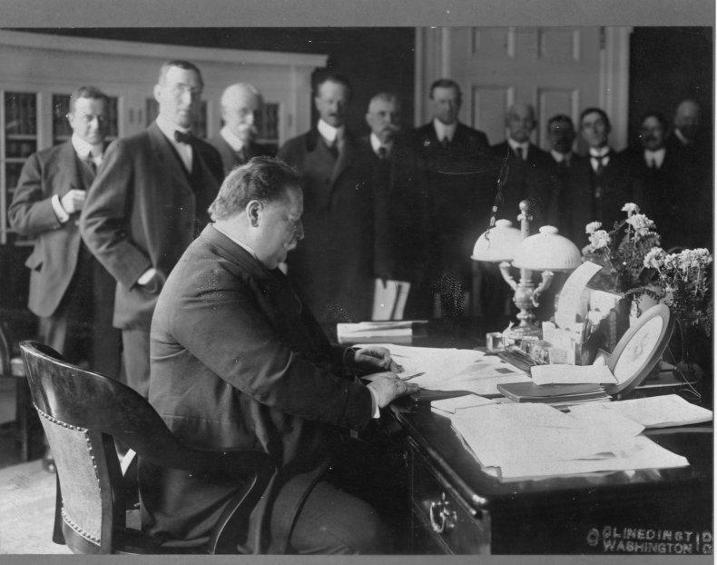 William Howard Taft White House Oval Office