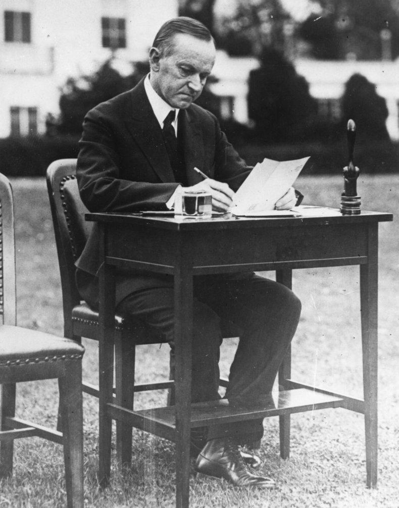 Calvin Coolidge 1924