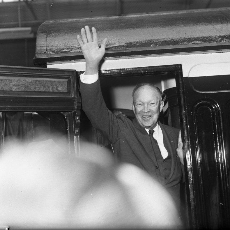 Dwight D. Eisenhower 1962 Ireland
