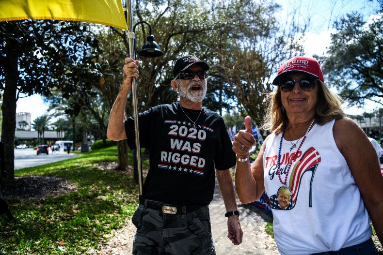 Trump supporters CPAC