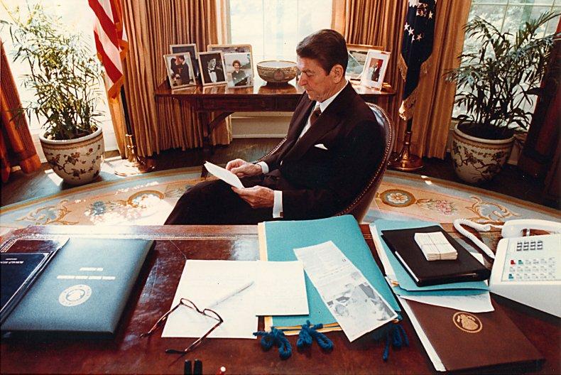Ronald Reagan White House 1981