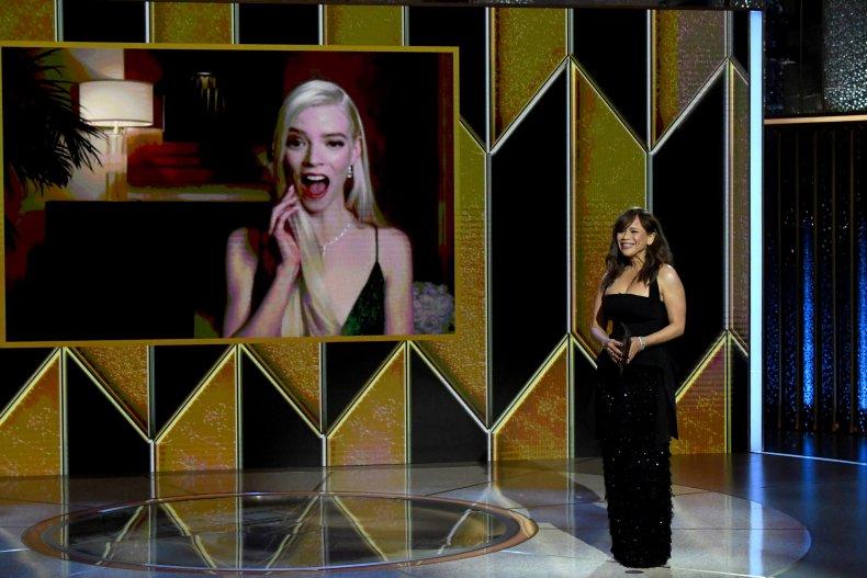 Anya Taylor-Joy wins at Golden Globes