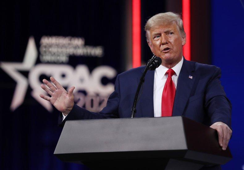 Donald Trump addresses CPAC