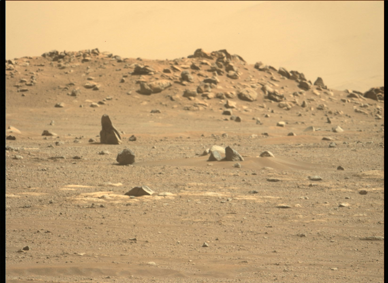NASA Perseverance rover Mars image