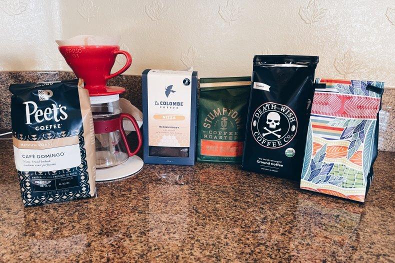 Coffee taste testing