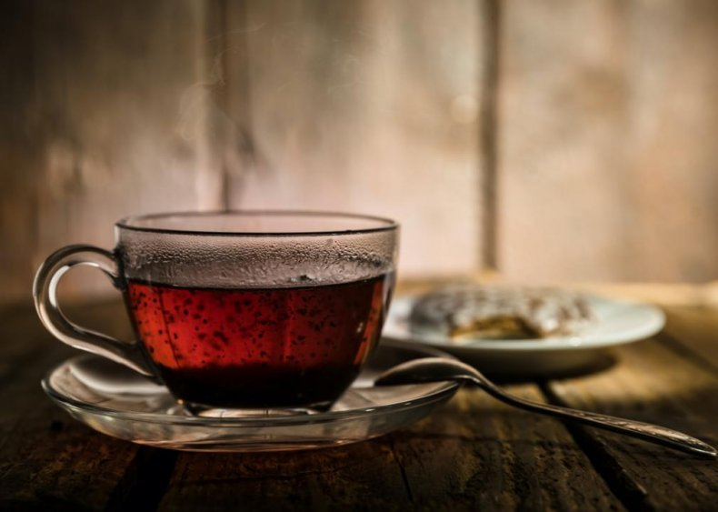 #5. Brewed black tea