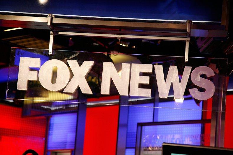 Fox News logo in New York City