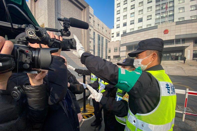 china surveillance covid threaten journalists