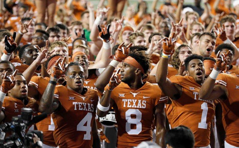 Texas Longhorns 'Eyes of Texas'