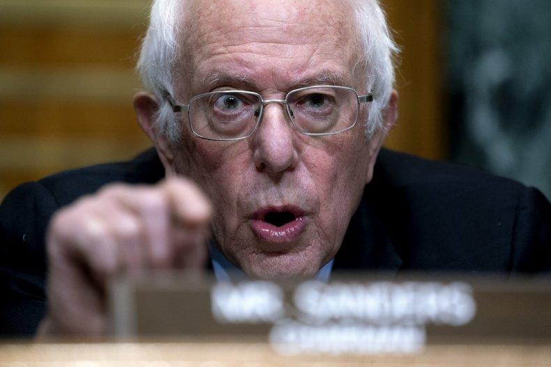 Bernie Sanders in Senate
